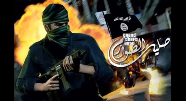 Imagen del videojuego de Estado Islámico